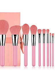 cheap -Amazon hot sale 12 pink makeup brush set with bag beauty tools factory direct makeup refresh