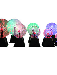 cheap -Novelty Magic Crystal Plasma Ball Touch Light 4 5 6 8 inch LED Night Light Glass Plasma Ball Sphere Table Lights