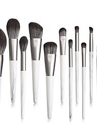 cheap -12 Makeup Brushes Set Makeup ToolsEye Brush Eye Shadow Brush Comfortable Soft Full Set