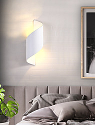 cheap -Nordic Wall Lamp Modern Simple Living Room Bedroom Bedside Background Wall Lamp Aisle Stair Outdoor Waterproof Wall Lamp