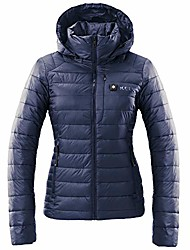 cheap -heated jacket for women | blue, small