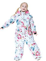 cheap -MUTUSNOW Girls' Ski Suit Skiing Hiking Camping Waterproof Windproof Warm POLY Clothing Suit Ski Wear / Winter / Kids