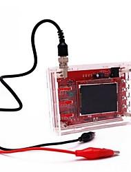 cheap -Fully Assembled DSO138 2.4 TFT Pocket-size Digital Oscilloscope Kit DIY Parts Handheld  Acrylic DIY Case Cover Shell
