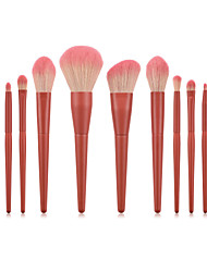 cheap -11 Makeup Brushes Set Loose Powder Brush Eye Shadow Brush Make-Up Beauty Tools