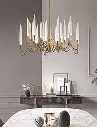 cheap -80 cm Crystal Chandelier Luxury Gold Modern Fashion Metal Electroplated 110-120V 220-240V
