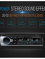 cheap -1 Din JSD-520 Car MP3 Player Radio U Disk SD Card BT Music Phone Replacement CD/DVD Advanced Audio Distribution Profile 12V