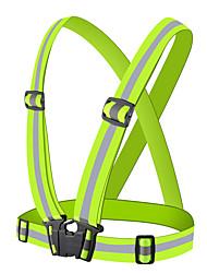 cheap -reflective vest adjustable safety vest outdoor reflective belt reflective gear for running, walking, jogging,cycling,motorcycle (pink)