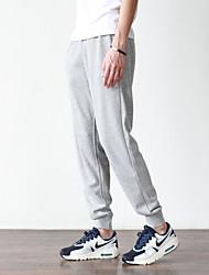 cheap -amazon brand - men's fleece jogger pant, charcoal heather medium