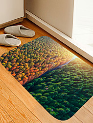 cheap -Spring and Autumn Forest Digital Printing Floor Mat Modern Bath Mats Nonwoven Memory Foam Novelty Bathroom