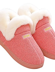 cheap -Women's Slippers / Men's Slippers House Slippers Casual Faux Fur Shoes