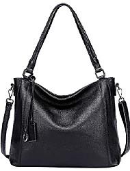 cheap -soft leather handbags for women shoulder hobo bag large tote crossbody bag by (o103e bronzy)