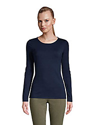 cheap -women ls lwcm shaped crew radiant navy plus 2x