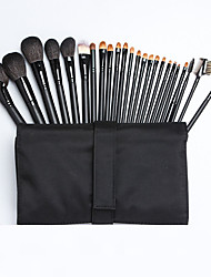 cheap -Professional Makeup Brushes 24pcs Soft Full Coverage Weasel Brush Wooden / Bamboo for Makeup Brush