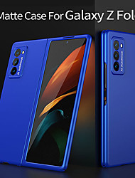 cheap -Phone Case For Samsung Galaxy Back Cover Galaxy Z Fold 2 Shockproof Ultra-thin Frosted Solid Color PC