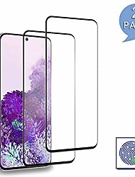cheap -galaxy s20 screen protector film, [3d full coverage][anti-scratch][no-bubble],tempered glass screen protector for samsung galaxy s20