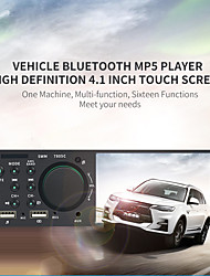 cheap -1 Din 7805C 4.1 Inch Touch Screen Audio Video MP5 Player TF USB ISO Remote Multicolor Lighting Head Unit 12V