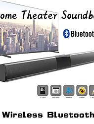 cheap -LITBest BS-28D 20W Wireless Bluetooth Speaker Soundbar Stereo Surround Sound TV Home Theater Soundbar Subwoofer with Audio Coaxial Cable