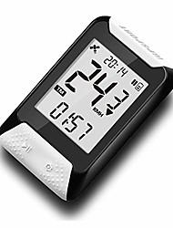 cheap -gps bike computer wireless gps cycling computer bicycle speedometer ipx7 waterproof cycle computer red