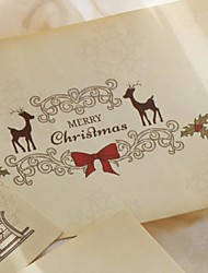 cheap -5pcs Christmas Decorations Christmas Ornaments Cards