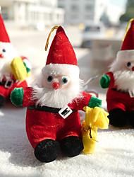 cheap -Christmas Toys Ornaments Plush Christmas Stuffed Dolls Santa Claus Gift Decoration Party Favors Plush 1 pcs Kid's Adults 26*18*14cm Christmas Party Favors Supplies
