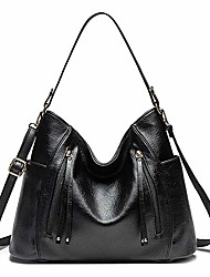 cheap -women hobo bag faux leather handbag shoulder bags top-handle purse for ladies