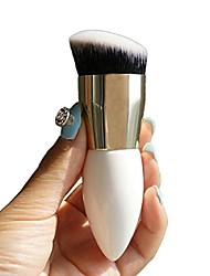 cheap -makeup beauty cosmetic face powder blush brush foundation brushes tool (white)
