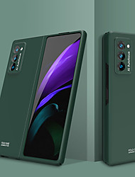 cheap -Phone Case For Samsung Galaxy Full Body Case Galaxy Z Fold 2 Shockproof Ultra-thin Solid Color TPU