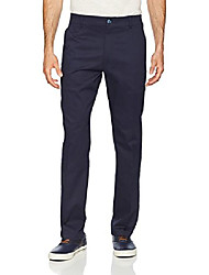 cheap -men's performance series tri-flex no iron relaxed fit pant, navy, 32w x 32l