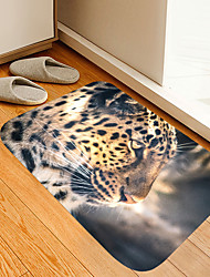 cheap -Animal Jaguar Digital Printing Floor Mat Modern Bath Mats Nonwoven  Memory Foam Novelty Bathroom
