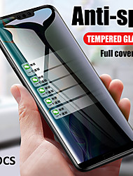 cheap -OPPO Screen Protector Oppo Reno 4 Reno 3 Pro Find X Find X2 Ace 2 A72 A52 A92 High Definition HD Front Screen Protector 3 pcs Tempered Glass Anti Peeping