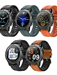 cheap -T11 Pure Circle Pedometer Heart Rate Waterproof Bluetooth Sports Sleep Camera Blood Pressure Smart Watch