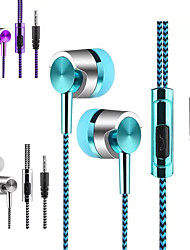 cheap -LITBest Universal 3.5mm In-Ear Stereo Earbuds Earphone With Mic For Cell Phone Audio Jack Stereo InLine Control for Sport Fitness