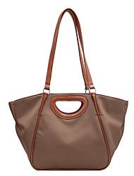 cheap -Women's Bags Oxford Cloth Tote Top Handle Bag Daily Handbags Baguette Bag Black Khaki Coffee