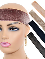 cheap -Wig Headband Gold Velvet Non-lace Wig Headband Headgear Solid Wig Headband Beautification And Safe Fixing