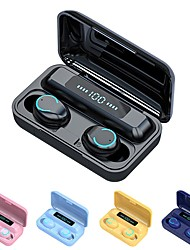 cheap -F9-9 Wireless Earbuds TWS Headphones Bluetooth5.0 Stereo with Volume Control with Charging Box Mobile Power for Smartphones Smart Touch Control for Mobile Phone