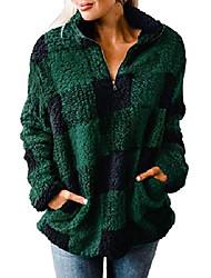povoljno -ženska jesen-zima dukserica sherpa od flisa s dugim rukavima pulover jakna