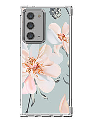 cheap -Floral Case For Samsung Galaxy S21 Galaxy S21 Plus Galaxy S21 Ultra Unique Design Protective Case Shockproof Back Cover TPU