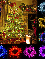 cheap -20m LED Lights Home Decorating Christmas Lights LED Outdoor String Lights 200 LED for Christmas Birthday Bedroom Wedding Party Decoration with 8 Control Modes