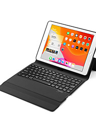 cheap -Bluetooth Ergonomic Keyboard Rechargeable / Foldable / Leopard Print For iPad 2 / iPad Air Bluetooth