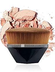 cheap -duo mei qi foundation brush bb cream makeup brushes loose powder brush flat kit 1pcs make up brushes (handle color : 01)
