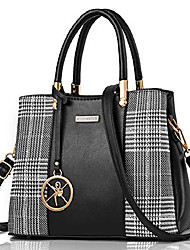 cheap -women handbag and purse, vegan leather designer satchel bag, modern black, small