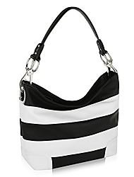 cheap -mkf hobo bag for women - pu leather handbag - womens shoulder bag top handle fashion pocketbook purse pink