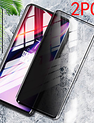 cheap -2PCS OnePlus Screen Protector Oneplus 8 Pro / Oneplus 7 Pro 5G /  Oneplus 7T Pro / Oneplus 6T / Oneplus Nord High Definition (HD) Front Screen Protector Tempered Glass Privacy Screen
