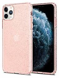 cheap -liquid crystal glitter designed for apple iphone 11 pro max case (2019) - rose quartz