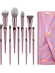 cheap -Professional Makeup Brushes 10pcs Soft Full Coverage Adorable Lovely Comfy Plastic for Makeup Tools Eyeliner Brush Blush Brush Foundation Brush Makeup Brush Lip Brush Lash Brush Eyebrow Brush