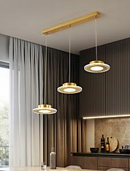 cheap -3-Light 72 cm Lantern Desgin Pendant Light Metal Acrylic Electroplated LED Nordic Style 110-120V 220-240V