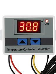 cheap -XH-W3001 Digital Temperature Controller Thermostat W3001 110V 220V 12V 24V Thermoregulator Aquarium Incubator Temp Regulator