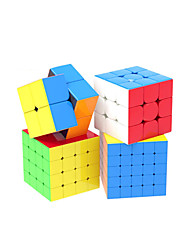 cheap -Speed Cube Set 4 pcs Magic Cube IQ Cube 2*2*2 3*3*3 4*4*4 Speedcubing Bundle Stress Reliever Puzzle Cube Professional Level Gift Speed Kid's Toy Gift