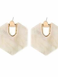 cheap -acrylic resin hoop earrings - tortoise shell earrings for women boho jewelry, great for sister, friends, mom (black)