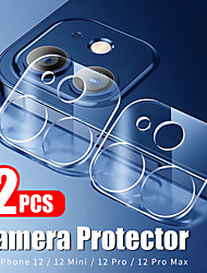 cheap -2Pcs Camera Lens Protective Film For iPhone 12 Pro Max Camera Tempered Glass Screen Protector For iPhone 12 mini iPhone 11 X Xs Xr Xs Max 7 8 Plus